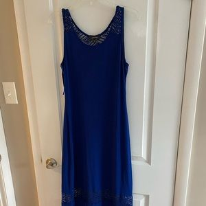 Royal Blue Spense Maxi Dress, size M